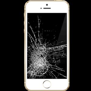 Розбитий екран айфона 5
