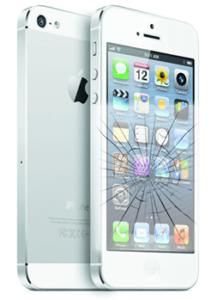 Розбитий екран в iPhone 5s
