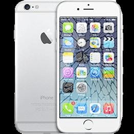 Розбите скло в телефоні iphone 6s